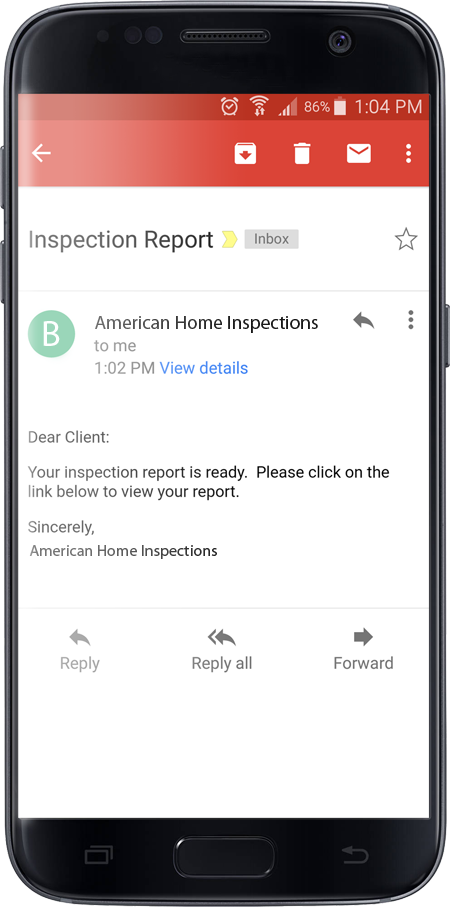 Tennessee Home Inspection Home Gauge Report
